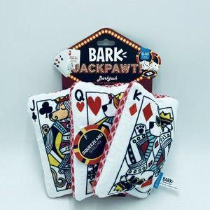 Bark Box Barkjack S-M Dog Toy Casino Cards